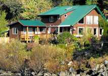 Island Tides British Columbia Fishing Lodge
