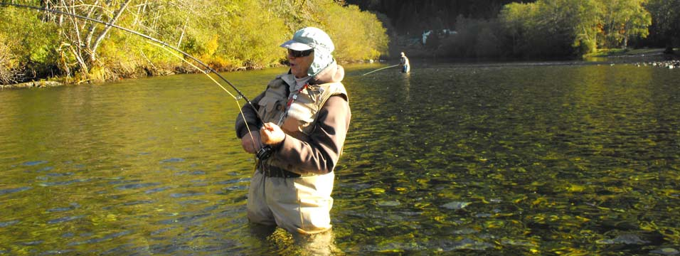 Bc fly fishing for steelhead trout at island tides bc for Fishing vancouver island